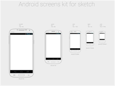 android templates for sketch android screens sketch freebie download free resource