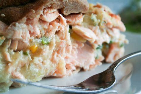 rustic salmon pie  healthy foodie