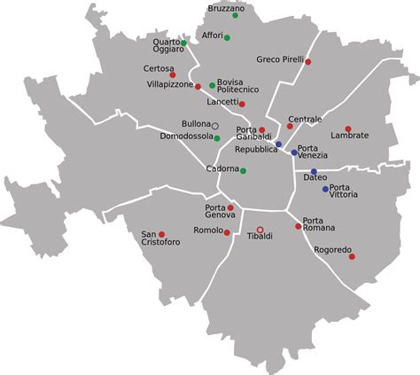 sections of italy railway stations in milan wikipedia