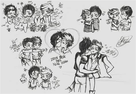 Ziall Sketches 3 By Yamimana On Deviantart