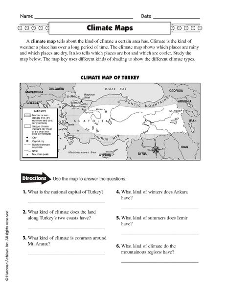 Weather And Climate Worksheets by All Worksheets 187 Weather And Climate Worksheets