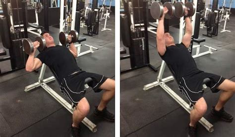 incline bench press without bench a great beginner s workout routine