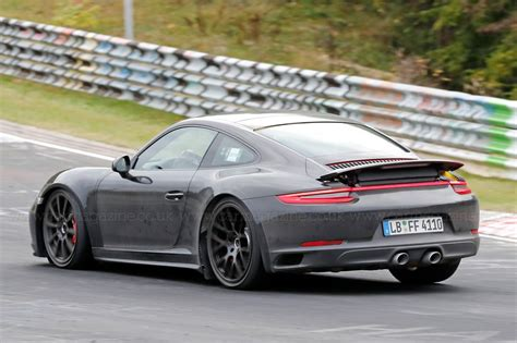 latest porsche next porsche 911 snapped is this the new 992 gt3 by car