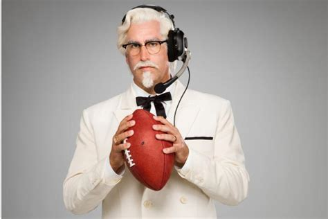 kentucky fried chicken commercial actor 2016 see the spot check out kfc s new comedic colonel cmo