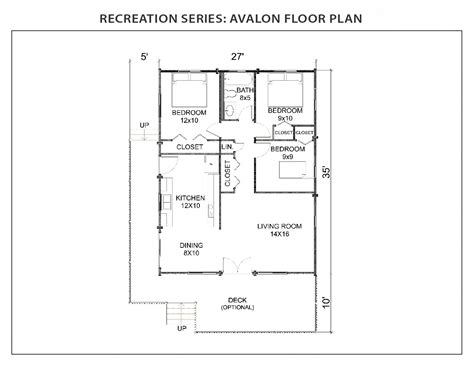 Avalon Floor Plan by Avalon Floor Plan Recreation Series Ihc