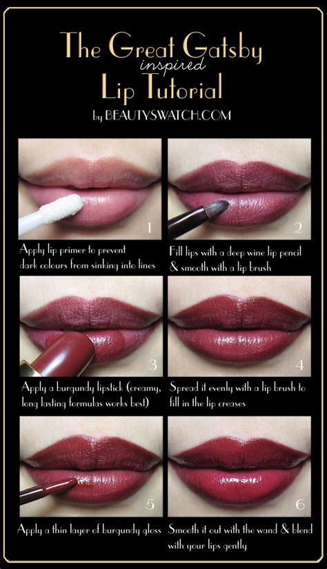 gatsby colors these 21 lipstick tutorials will change your morning