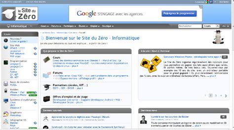 tutorial html site du zero pour d 233 buter en programmation le site du z 233 ro une perle