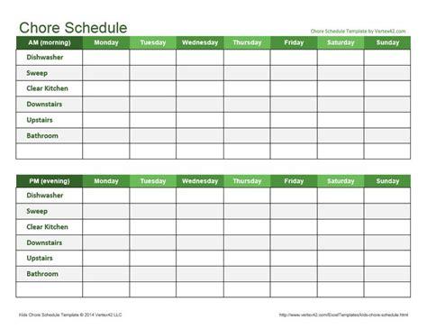 Best 25 Chore Schedule Ideas On Pinterest Housekeeping Schedule House Cleaning Schedules And Supplement Schedule Template