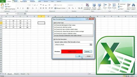 conditional format excel 2007 based on another cell excel 2010 cell color formula how to make a cell turn