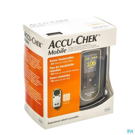 accu chek test cassette accu chek mobile test cassette 50 tests 7141254171