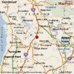 map of bushnell florida bushnell florida