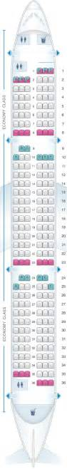 seat map scandinavian airlines sas airbus a321