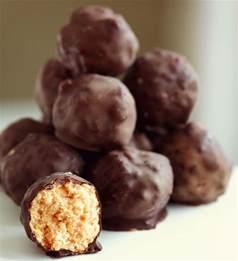 peanut butter balls recipe dishmaps