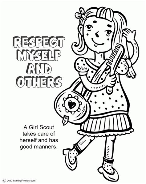 Daisy Girl Scouts Coloring Pages Coloring Home Scout Petal Coloring Page Free
