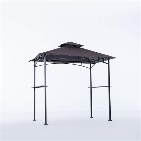 sunjoy agusta 8 ft grill gazebo the home depot canada