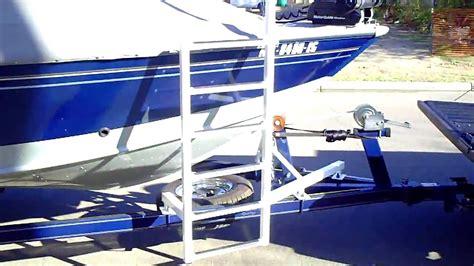 alumacraft boat ladders boat bow ladder 1 youtube