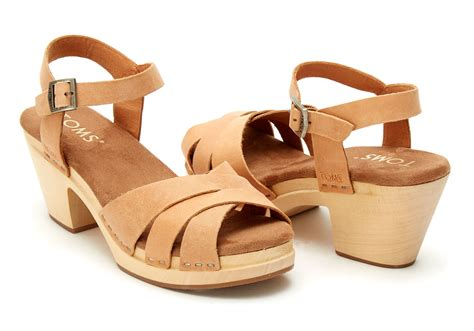 clog sandals for toms sandstorm leather s beatrix clog sandals in