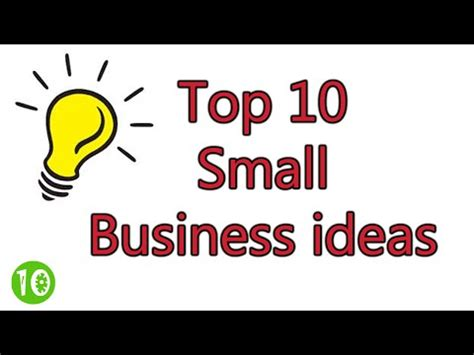 top 10 small business ideas smallbusinessideas247 com