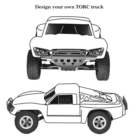 coloring pages of rc cars free coloring pages of rc truck