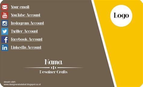 desain kartu nama elegan cdr download desain kartu nama format corel draw cdr