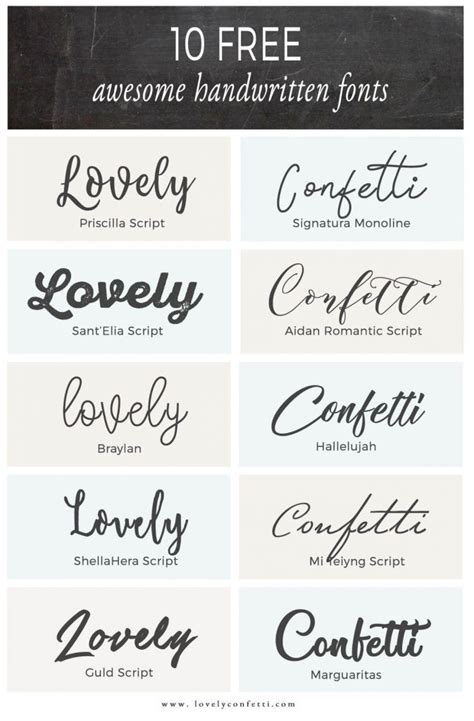 best free handwriting fonts 10 free awesome handwritten fonts lovelyconfetti