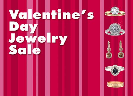 valentines jewelry sale 31 brilliant jeweler direct mail postcard advertising exles