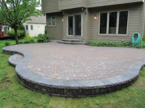 Patio With Pavers Brick Doctor Bill June 2011 Garden Ideas Plymouth Patios And Paver Designs