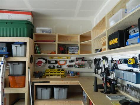 Diy Garage Wall Storage Ideas Pegboard Garage Wall Storage Between Diy Wood Custom
