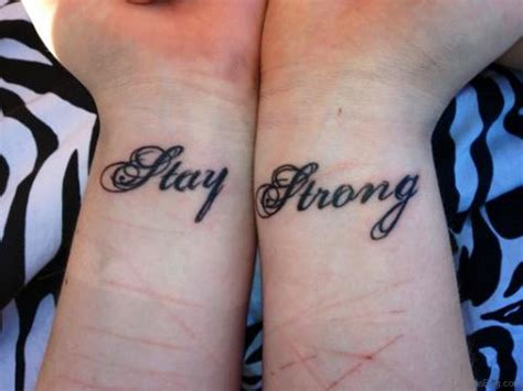 strong tattoo designs 56 alluring stay strong tattoos on wrist