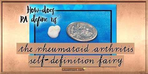 résumé definition the rheumatoid arthritis self definition