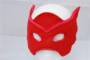 owlette mask owlette costume pj mask costume bloomsnbugs