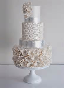 wedding trends metallic cakes belle the magazine