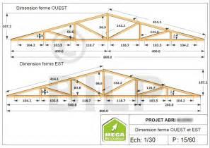 le plan de votre projet abri cabane sur mesure