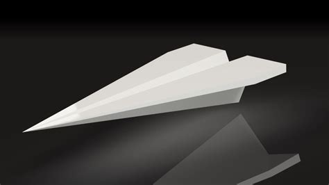 3d airplane card template 3d printed paper plane for your desktop holds business