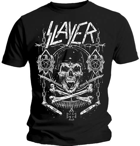 Bones T Shirt slayer skull bones t shirt