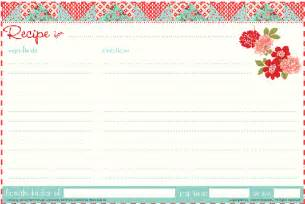 recipe template free gingerbread themed gift certificate template new