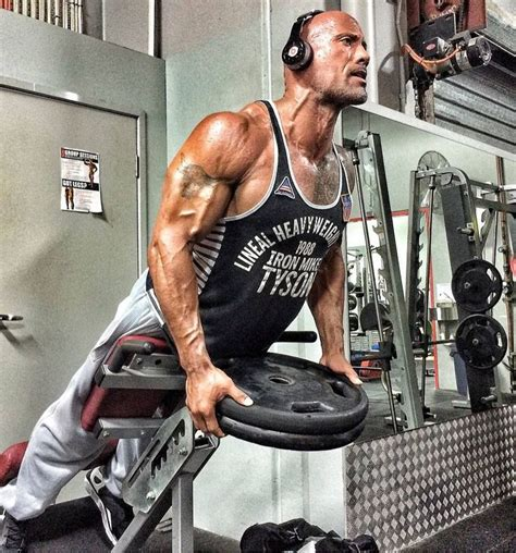 Dwayne Johnson   Gym / Workout / Bodybuilding   Pinterest