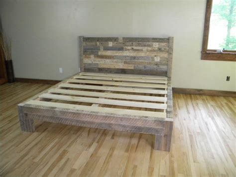 Wood Pallet Bed Frame Bed Platform And Platform On
