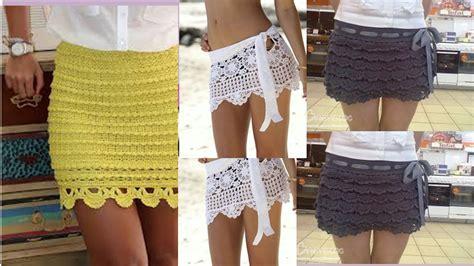 falda recta a crochet paso a paso faldas cortas tejidas a crochet iamgenes youtube