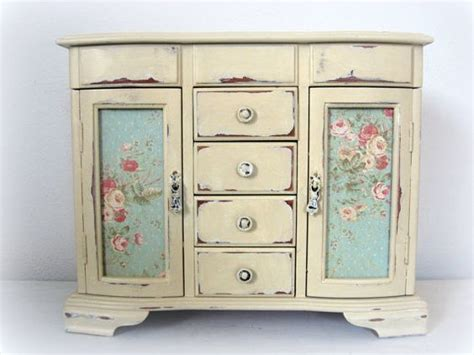 shabby chic jewelry cabinet huge shabby chic jewelry box dresser armoire french