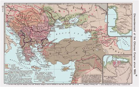 division of ottoman empire the ottoman empire maps