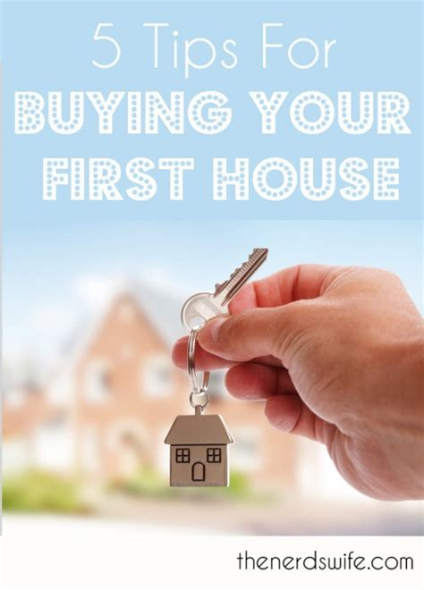 5 Tips For Buying Your First House