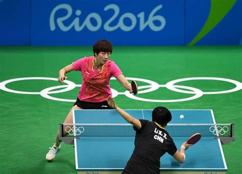 Olympic Table Tennis by Table Tennis Ding Ning Wins China Vs China At
