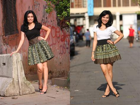 Darmi Rok Balon Skirt Batik kalimantan batik skirt from bateeque daily