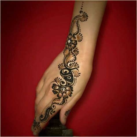 stylish arabic floral mehndi designs arabic floral henna