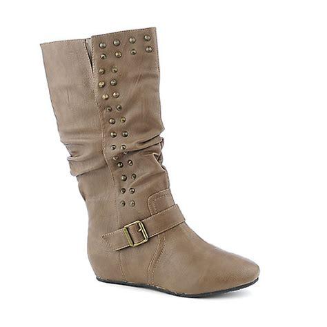 candies 111 knee high flat boot