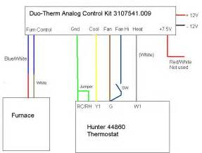 duo therm thermostat wiring diagram but not finding and following the exle the electrical