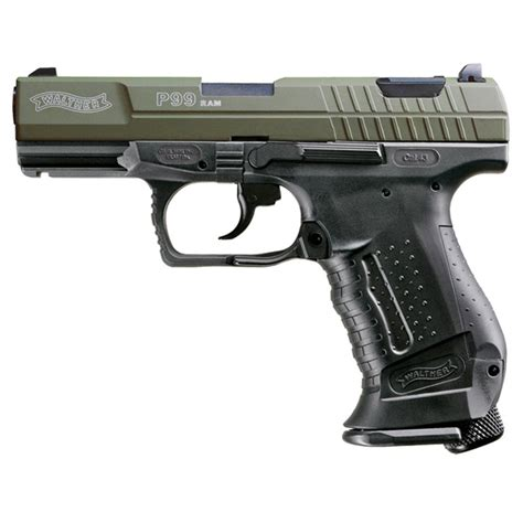 ram real walther 174 p99 real marker 174 air pistol green slide