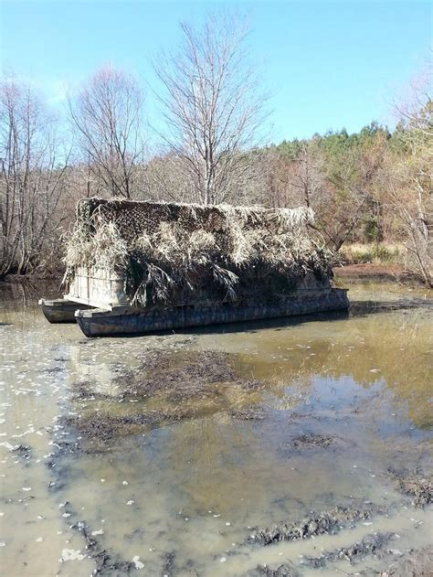 duck island boat blind duck blind from an old pontoon boat ideas and other