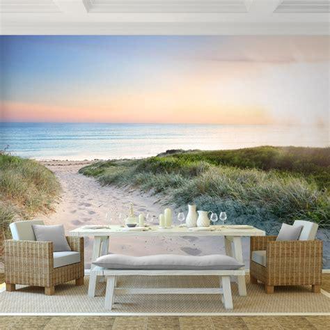 schlafzimmer 3 x 4 meter foto vliesbehang muurposter strand a 396x280 cm
